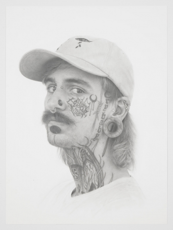 Cry Baby, 2019, Graphite on paper, 24 x 18 inches, 61 x 45.7 cm, MMG#30767