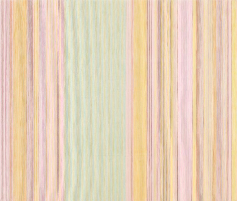 """""""Untitled,"""" 1973, Acrylic on canvas, 92 3/4 x 108 1/2 inches, 235.6 x 275.6 cm, A/Y#19548"""