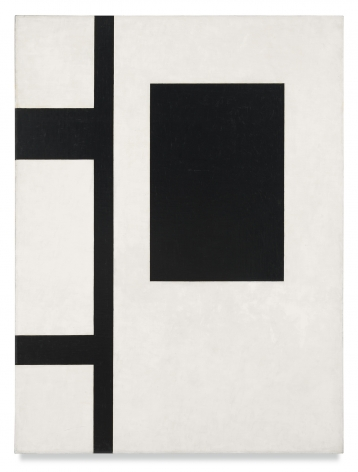 John McLaughlin, Untitled Composition, 1953, Oil on canvas, 48 x 36 inches, 121.9 x 91.4 cm, MMG#31493