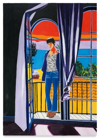 Alex, 2020, Oil on canvas, 98 x 70 inches, 248.9 x 177.8 cm, MMG#32550