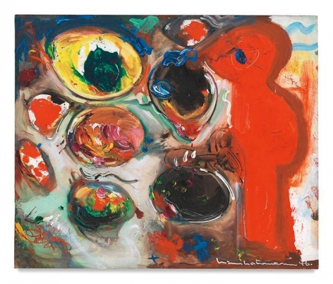 Hans Hofmann, The Conjuror (Small Version), 1946, Oil on panel, 25 x 30 inches, 63.5 x 76.2 cm, AMY#11344