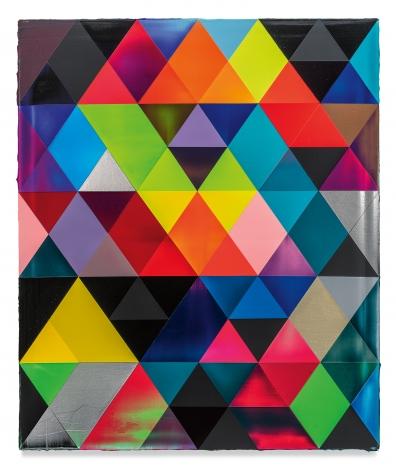 Matrix, 2021, Acrylic on linen, 47 1/4 x 39 3/8 inches, 120 x 100 cm,MMG#32770