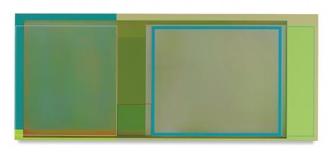 Garden House, 2016, Acrylic on canvas, 30 x 72 inches, 76.2 x 182.9 cm, AMY#28493