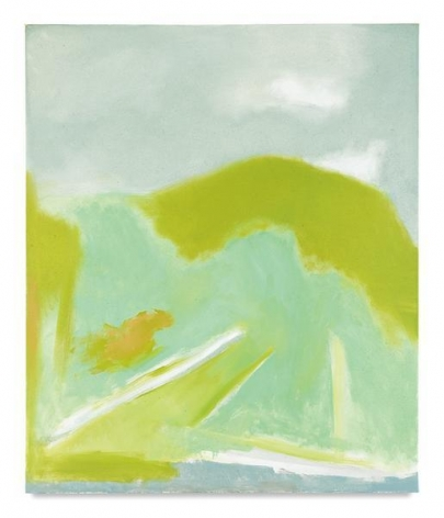 Spring I, 1996, Oil on canvas, 50 x 42 inches, 127 x 106.7 cm, MMG#6579