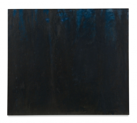 Woods, Almost All Black, 1962 Oil on canvas, 44 x 50 inches,111.8 x 127 cm, MMG#13585