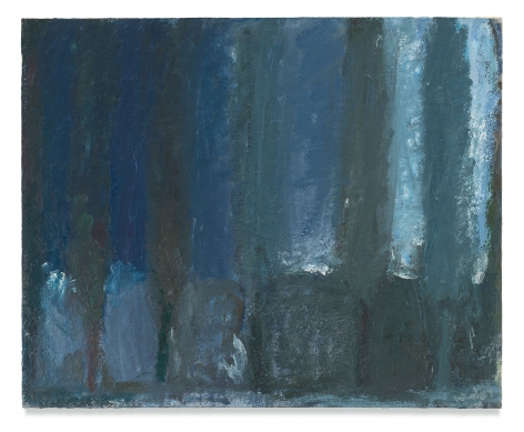 Cypress Rows, 1963, Oil on canvas, 25 x 30.75 inches, 63.5 x 78.1 cm, MMG#13685