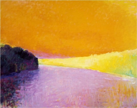 Hot Summer, 1990, Oil on canvas, 52 x 66 inches, 132.1 x 167.6 cm, A/Y#21548