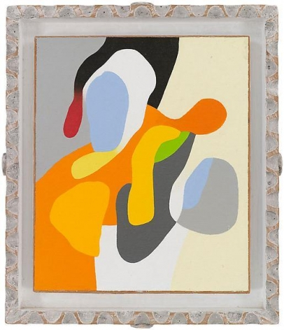 """""""Group insurance,"""" 1991, Oil on linen, 14 x 11 3/4 inches, 35.6 x 29.8 cm, A/Y#19112"""