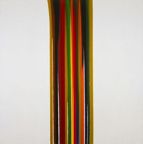 MORRIS LOUIS, Number 11, 1961, Acrylic on canvas, 78 x 78 inches, 198.1 x 198.1 cm, A/Y#15412