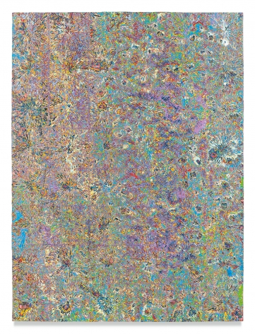 Untitled #11, 2018,Acrylic on panel,48 x 36 inches,121.9 x 91.4 cm,MMG#30214