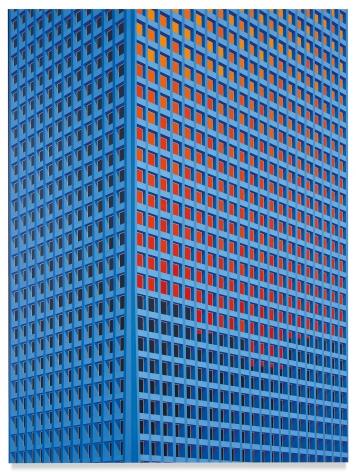 Tower, Houston, 2020,Acrylic on dibond,78 3/4 x 59 inches,200 x 150 cm,MMG#32185