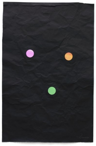 Stephen Dean, Juggler, 2014, Aluminum paper and dichroic glass, 36 x 24 inches, 91.4 x 61 cm, A/Y#21645