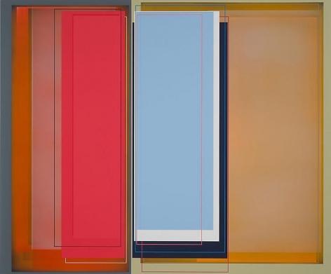 """""""Piano Man,"""" 2011, Acrylic on canvas, 49 x 59 inches, 124.5 x 149.9 cm, A/Y#19957"""