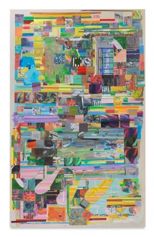 Franklin Evans, arabesquedesign, 2017, Acrylic on canvas