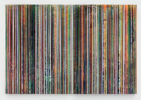 """HOLDINGTENDERLYTOWHATREMAINS,"" 2012, Epoxy resin on wood, 84 x 120 inches, 213.4 x 304.8 cm, A/Y#20497"