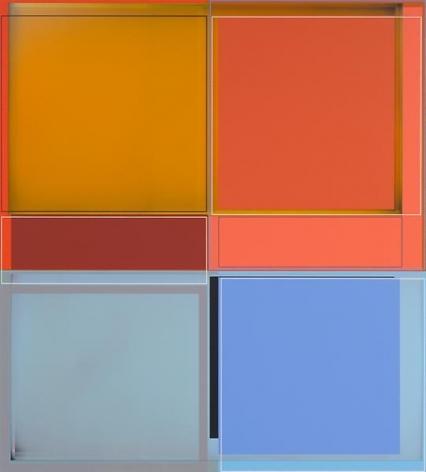 Patrick Wilson, Hollywood, 2014, Acrylic on canvas, 41 x 37 inches, 104.1 x 94 cm, A/Y#21540