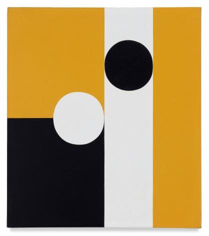 Frederick Hammersley, Half of Half #6, 1960, Oil on linen