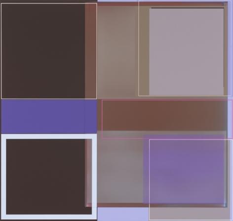 Patrick Wilson, Nightlife, 2014, Acrylic on canvas, 33 x 35 inches, 83.8 x 88.9 cm, A/Y#21488