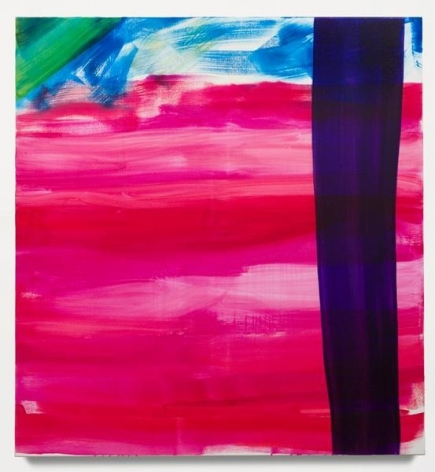 Untitled (four of six), 2014, Oil on linen, 50 x 46 3/4 inches, 127 x 118.7 cm, A/Y#21979