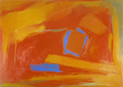 Untitled, 1990, Oil on canvas:, 44 x 62 inches, 111.8 x 157.5 cm, A/Y#6351