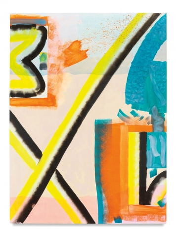 Untitled, 2018, Oil on linen, 78 x 58 inches, 198.1 x 147.3 cm, MMG#30196