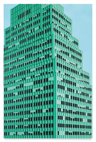 99 Park Ave, NYC, 2020, Acrylic on dibond, 67 x 44 inches, 170 x 112 cm, MMG#32189