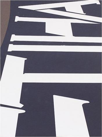 Brian Alfred, Etihad, 2014, Collage, 10 1/4 x 7 3/4 inches, 26 x 19.7 cm, A/Y#21514