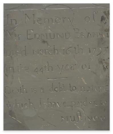 Josephine Halvorson, Memento Mori, 2008, Oil on linen, 17 1/8 x 14 1/8 inches, 43.5 x 35.9 cm, MMG#33141