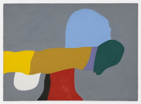 Nip & Tuck, 1986, Oil on hard wood, 6 1/2 x 9 inches, 20.3 x 25.4 cm, MMG#31774