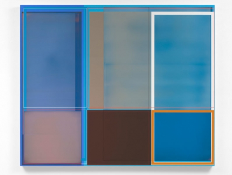 Suggestion and Possibility, 2015, Acrylic on canvas, 49 x 59 inches, 124.5 x 149.9 cm, A/Y#22479