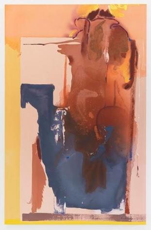 Helen Frankenthaler, Groundswell, 1987, Acrylic on canvas, 79 1/2 x 51 1/4 inches, 201.9 x 130.2 cm, AMY#11633