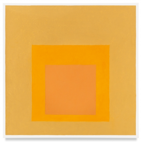 Josef Albers, Homage to the Square, 1961, Oil on masonite, 18 x 18 inches