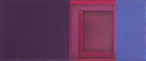 """""""Big Squeeze,"""" 2010, Acrylic on canvas, 30 x 72 inches, 76.2 x 182.9 cm, A/Y#19635"""