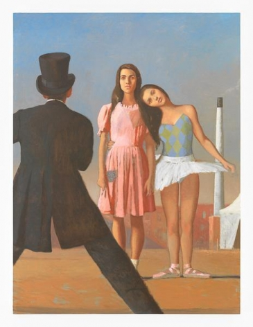 Bo Bartlett, The Dancer from the Dance, 2014, Oil on linen, 48 x 36 inches, 121.9 x 91.4 cm, AMY#28312
