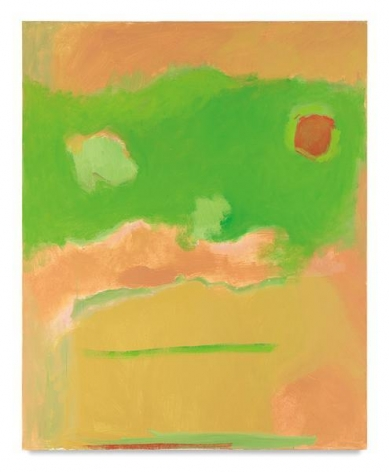 Green Floating, 1997, Oil on canvas, 52 x 42 inches, 132.1 x 106.7 cm, AMY#4521
