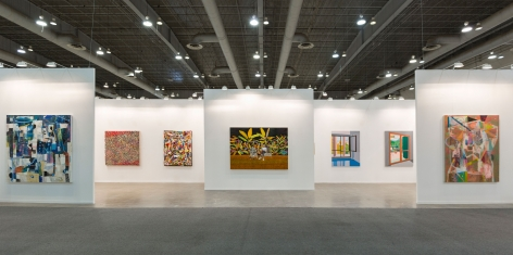 Installation view, Booth #A111, Miles McEnery Gallery, ZONA MACO 2020