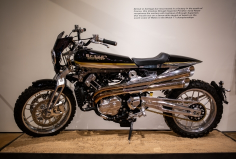 2019 Brough Superior Pendine Sand Racer 997cc Twin
