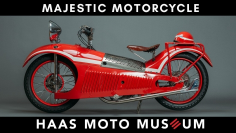 THE LIGHT SHINES IN Episode #1: Majestic Motorcycle - Art Deco Masterpiece