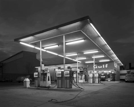 Baldwin Lee, Gulf Station, New Haven, CT