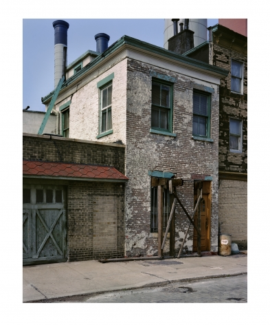 Vinegar Hill, Brooklyn, 1982, chromogenic print