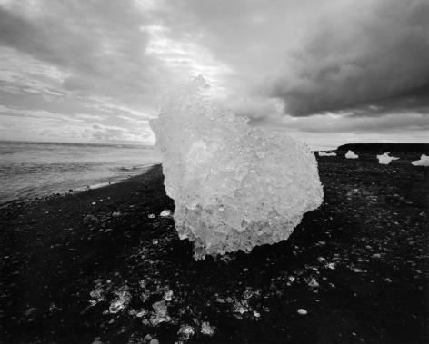 Diane Cook, Jokulsarlon, Iceland, gelatin silver print