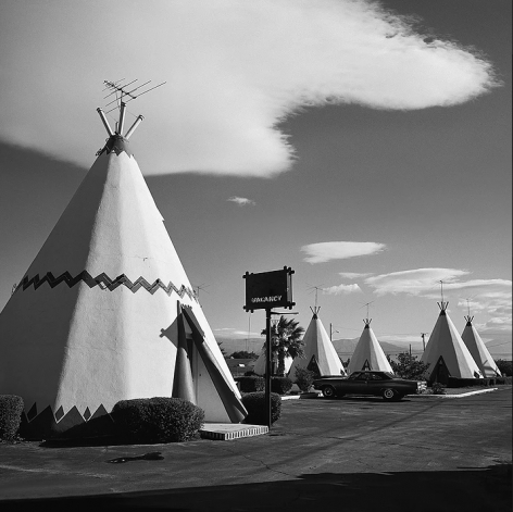 Teepee Motel, from Southland