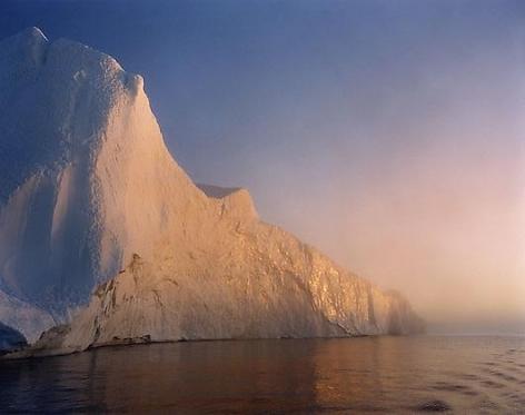 Len Jenshel, Disko Bay, Ilulissat, Greenland, 1999, chromogenic print