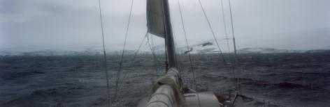 "Yacht, ""Warbaby"", Maxwell Bay, King George Island, South Shetland Islands, Antarctica"