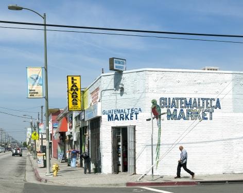 Guatemalteca Market, Pico Boulevard, Los Angeles, chromogenic print