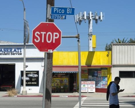 La Chiquita Market, Pico Boulevard, Los Angeles, chromogenic print