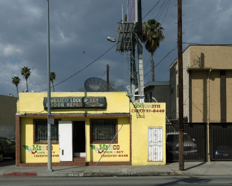 Mexico Lock & Key, Pico Boulevard, Los Angeles, chromogenic print