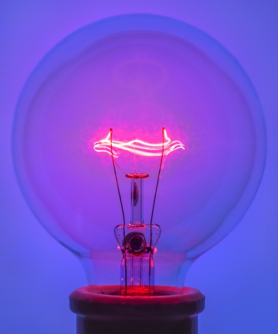 Light Bulb 1 Blue, 2018