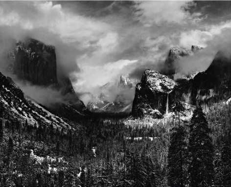 Ansel Adams Clearing Winter Storm, Yosemite National Park, 1944