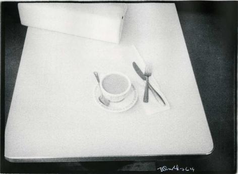 Cup and Purse, 1976, vintage gelatin silver print (Itek print)